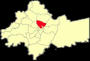 Basman district - Basman location in Amman Governorate