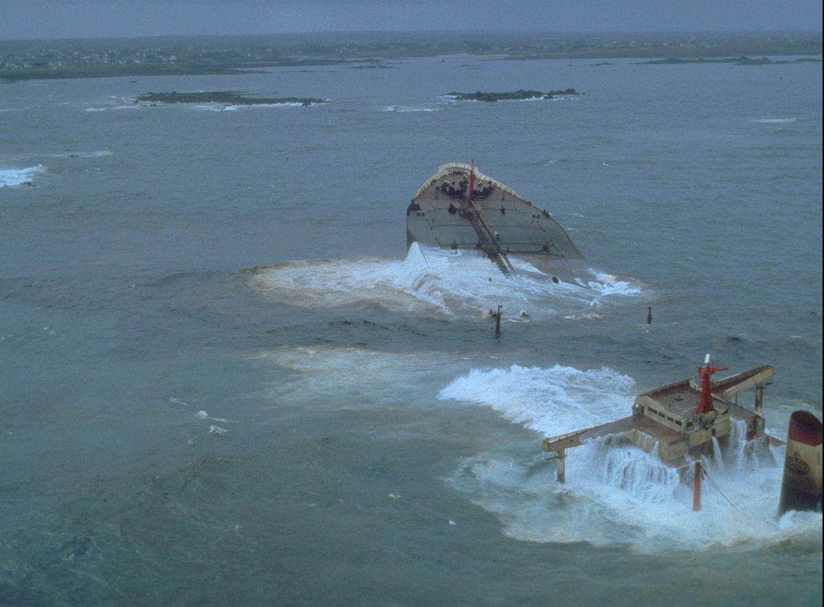 Today in history… oil spills from stricken Amoco Cadiz