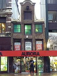La photographie lauréate : le Vijzelstraat 31 à Amsterdam