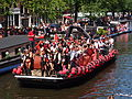 Amsterdam Gay Pride 2013 boat no30 Captain Morgan pic2.JPG