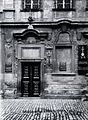 An ornate doorway into a large stone building used as a disp Wellcome V0029776.jpg