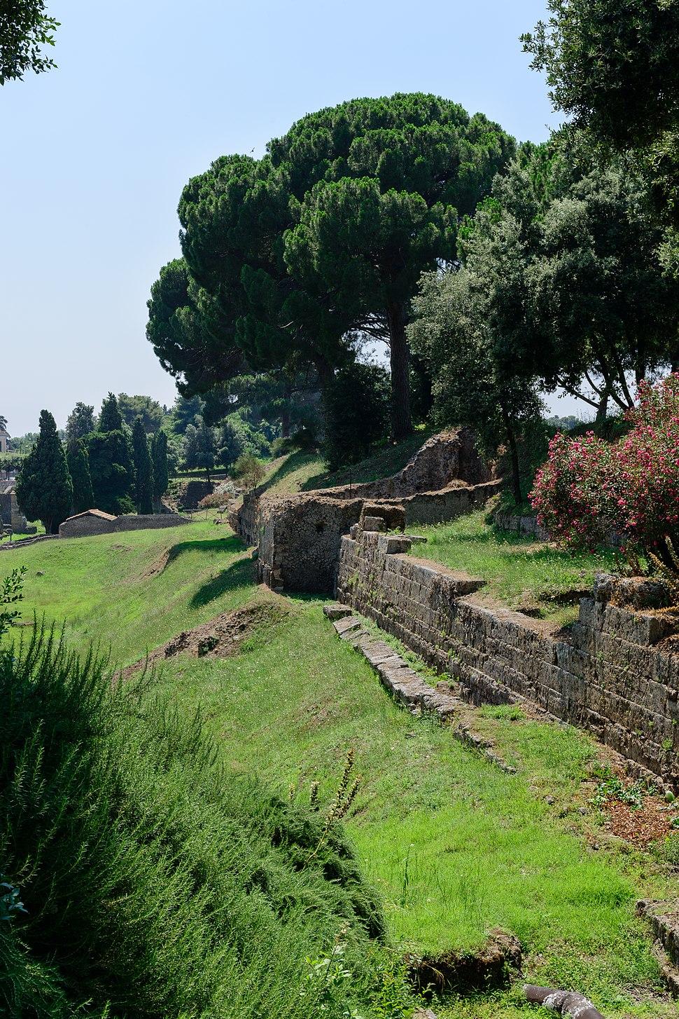 Ancient Roman Pompeii - Pompeji - Campania - Italy - July 10th 2013 - 47