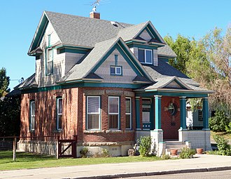 National Register of Historic Places listings in Washington County, Idaho - Image: Anderson Elwell House Weiser Idaho