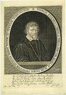 Andreas Essenius Dutch theologian