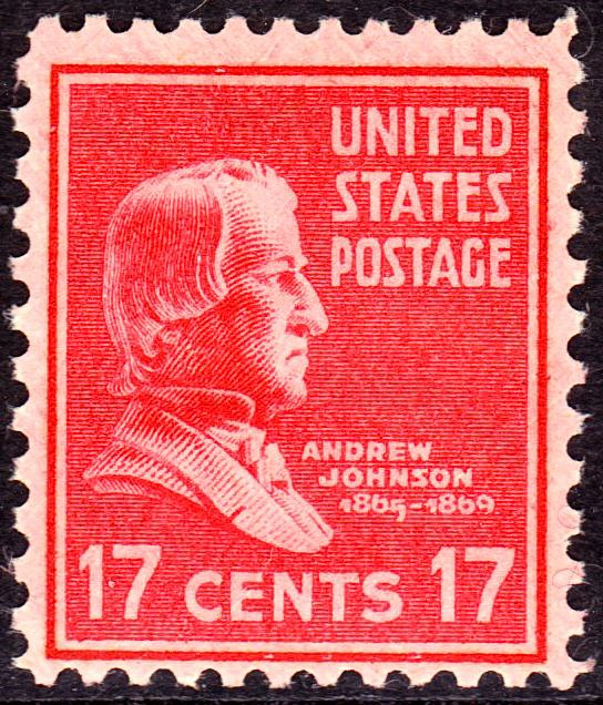 Andrew Johnson 1938 Issue-17c