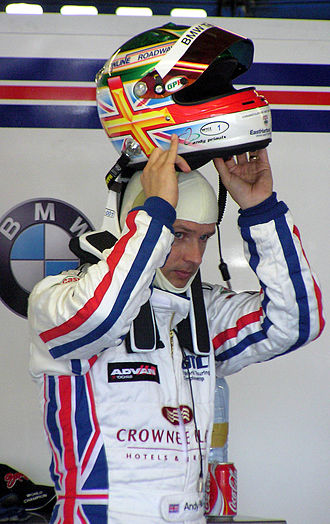 Max Mosley - Three-times WTCC Champion Andy Priaulx wearing the HANS device now mandated in FIA championships