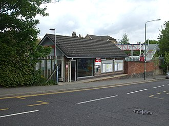 Anerley railway station - Image: Anerley station building 2010