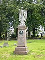 Angel sculpture, Morningside Cemetery - geograph.org.uk - 1462351.jpg