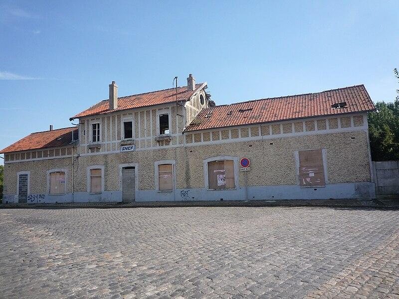 Ancienne gare d'Aniche, Nord, Nord-Pas-de-Calais.