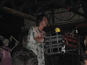 Panda Bear (musician) - Lennox performing with Animal Collective in 2007.