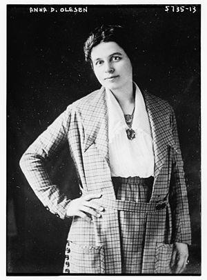 United States Senate election in Minnesota, 1922 - Image: Anna Dickie Olesen