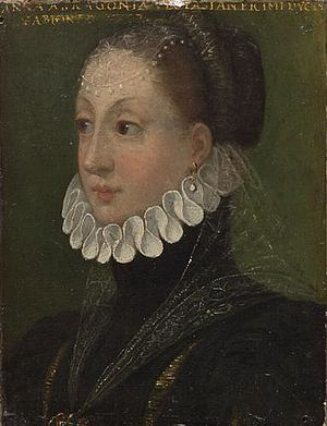Vespasiano I Gonzaga - Anna d'Aragona, his second wife
