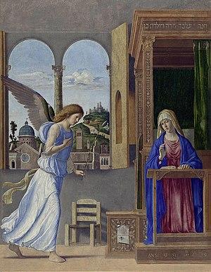 Благовещение (картина Чимы да Конельяно) — Википедия