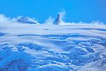 """Another spectacular cruise northward along the NW coast of the Antarctic Peninsula.""""what is this peak called.?? sure looks like a worthy mountaineering objective.!!"""". (25381522854).jpg"""