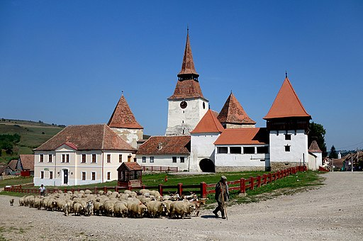 Ansamblul bisericii evanghelice fortificate din Archita MS-II-a-A-15596