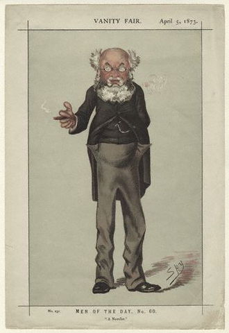 Anthony Trollope - Trollope by Spy in Vanity Fair, 1873