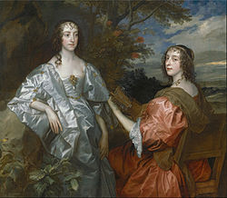 Anthonis van Dyck: Katherine, Countess of Chesterfield, and Lucy, Countess of Huntingdon