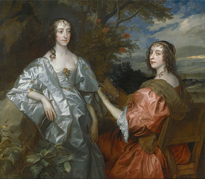 File:Anthony Van Dyck - Katherine, Countess of Chesterfield, and Lucy, Countess of Huntingdon - Google Art Project.jpg