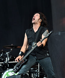 Anthrax, Frank Bello at Wacken Open Air 2013.jpg