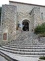 Antiga església de Sant Llorenç (Sant Guilhèm dau Desèrt) - Porta.jpg