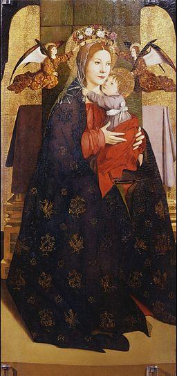 Antonello da messina, madonna uffizi