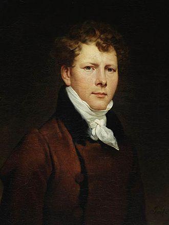 Antoni Brodowski - Self-portrait (1813)