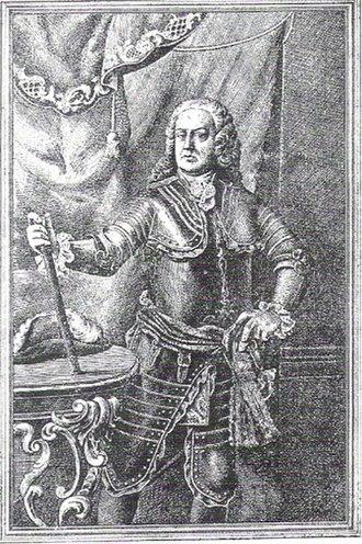 Antoni de Villarroel - Artistic depiction of the 19th century.