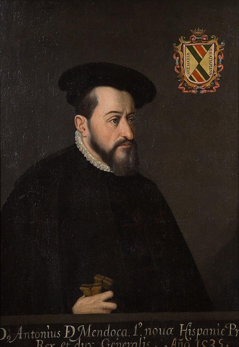 Retrato de Antonio de Mendoza.