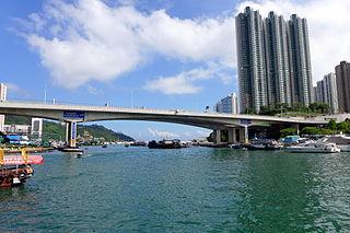 Ap Lei Chau Bridge bridge in Peoples Republic of China