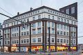 Apartment business house Schwarzer Baer square Blumenauer Strasse Linden-Mitte Hannover Germany.jpg