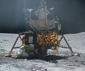 Lander (spacecraft) - Apollo 16 lunar lander.