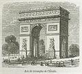 Arc de triomphe de l'Étoile, 1855.jpg