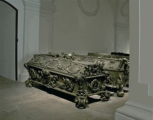 Archduchess Maria Theresa of Austria (1684–1696) - Maria Theresa's sarcophagus in the Imperial Crypt, Vienna, Austria