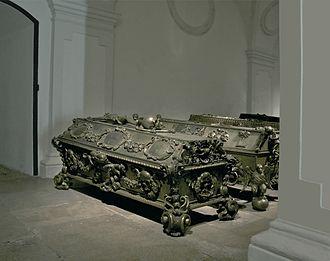 Archduchess Maria Theresa of Austria (1684–1696) - Maria Theresa's sarcophagus in the Imperial Crypt, Vienna, Austria