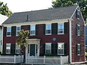 Gershom Cutter House - Photograph taken in 2008