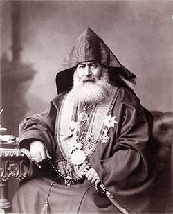 Armenian Patriarch of Jerusalem 1900.jpg