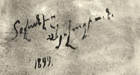 Armenian Signature of Aivazovsky
