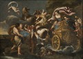 Armida abducts Rinaldo (Andrea Camassei) - Nationalmuseum - 17338.tif