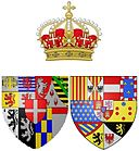 Arms of Maria Antonia of Spain (1729-1785), Queen of Sardinia.jpg