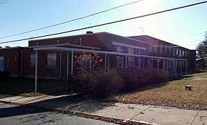 National Register of Historic Places listings in Lynchburg, Virginia - Image: Armstrong Elementary School Nov 12
