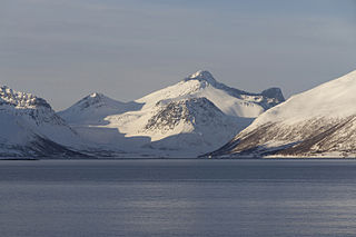 Troms County (fylke) of Norway