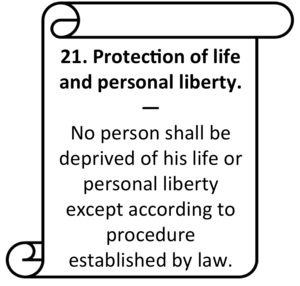 Tort law in India - Article 21 is at contention here with regards to constitutional torts.