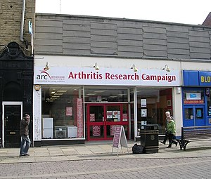 English: Arthritis Research Campaign - Queen S...