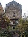Aruej Huesca. Torre medieval, fachada oeste.jpg