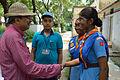 Arup Roy Meets Nisana Foundation Members - Summer Camp - Sibpur BE College Model High School - Howrah 2013-06-09 9710.JPG
