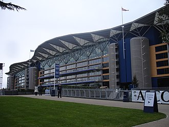 Ascot, Berkshire - The new grandstand at Royal Ascot