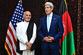 Ashraf Ghani Ahmadzai and Secretary Kerry July 2014.jpg