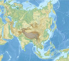 Mapa lokalizacyjna Azji