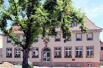 Aspach-Michelbach - The town hall in Aspach-Michelbach