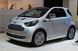 Aston Martin on Aston Martin Cygnet     Wikipedia